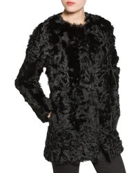 Mango Straight Cut Fur Coat