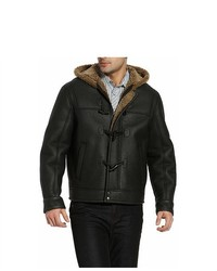 BGSD Hooded Sheepskin Shearling Jacket