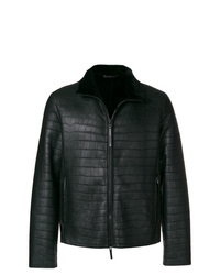 Emporio Armani Crocodile Effect Jacket
