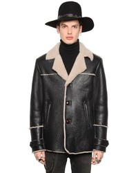 Dustin Shearling Aviator Jacket