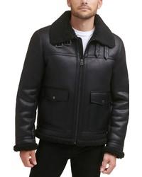 Levi's Faux Fur Collar Moto Jacket