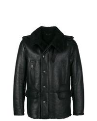 Etro Fur Lined Leather Jacket