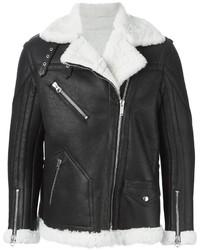 Golden Goose Deluxe Brand Shearling Biker Jacket