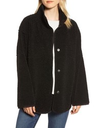 Velvet by Graham & Spencer Reversible Lux Faux Shearling Coat
