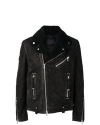 Diesel Black Gold Shearling Biker Jacket