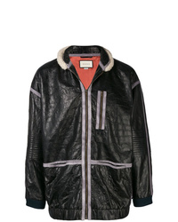 Gucci Shearling Leather Jacket