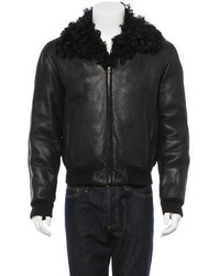 Gucci Shearling Lined Jacket
