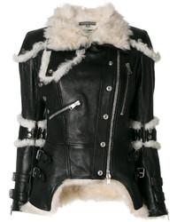 Shearling trim jacket medium 4947570