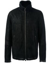 Zipped shearling jacket medium 814712