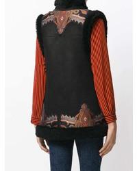 Etro Embroidered Gilet Jacket