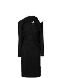 Versace Asymmetric Crpe Dress