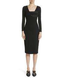 Rosetta Getty Bandeau Detail Jersey Dress