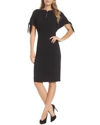 Harper Rose Bow Sleeve Sheath Dress