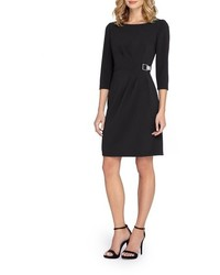 Crepe sheath dress medium 963885