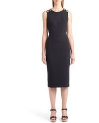 Dolce & Gabbana Dolcegabbana Cross Back Sheath Dress