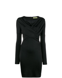 Versace Jeans Long Sleeve Fitted Dress