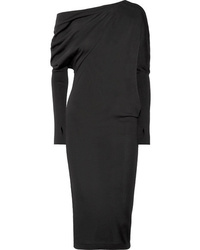 Tom Ford One Shoulder Cashmere And Dress