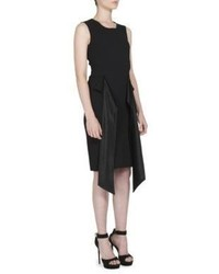 Givenchy Sash Detail Sleeveless Sheath Dress