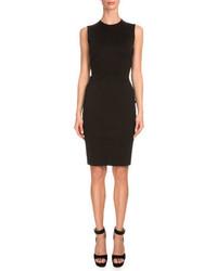 Givenchy Sleeveless Corset Back Sheath Dress Black