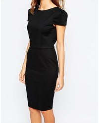 4160bacc Paper Dolls Tuxedo Pencil Dress With Open Back, $94 | Asos ...