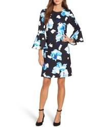 Bell sleeve shift dress medium 4952836