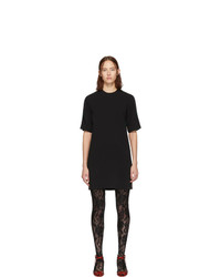 Gucci Black Web Tunic Dress