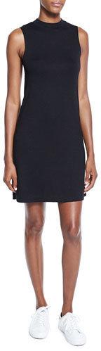 3d49c01a6d ... Rag   Bone Jean Hudson Mock Neck Knit Shift Dress Black ...