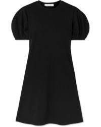 Beaufille Leda Ribbed Cotton Blend Jersey Mini Dress