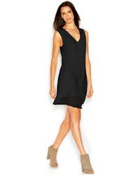 Rachel Roy Rachel Andi Dress Sleeveless V Neck Solid Shift
