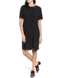 Tencel blend jersey shift dress medium 5035030