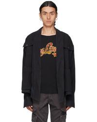 Greg Lauren Black Baker Jacket