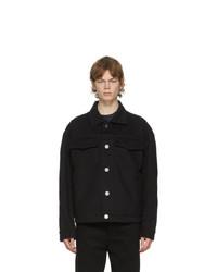 Acne Studios Black Canvas Jacket