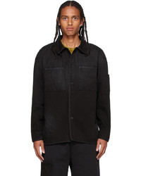 A-Cold-Wall* Black Denim Spray Shirt