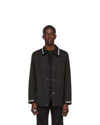 Burberry Black Easthorpe Coaches Jacket