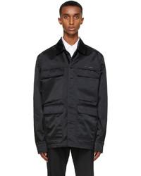 1017 Alyx 9Sm Black Luna Officer Jacket