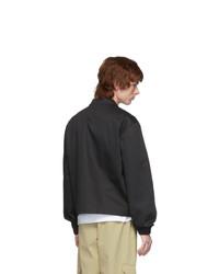 Xander Zhou Black Notched Lapel Jacket