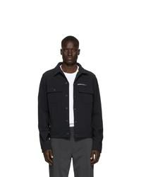 Off-White Black Slim Scuba Jacket