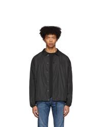 Belstaff Black Teamster Jacket