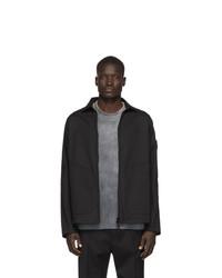 Stone Island Black Zip Up Overshirt Jacket
