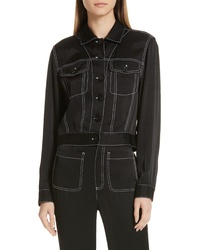 See by Chloe Contrast Stitch Jacket