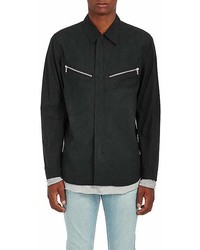 rag & bone Cotton Canvas Flight Shirt Jacket