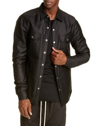 Rick Owens Giacca Ndkl Snap Up Outershirt