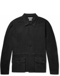 Our Legacy Linen And Cotton Blend Shirt Jacket