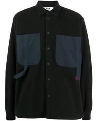 MSGM Overshirt Technical Pocket Shirt