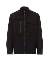 Diesel S Hotel Zip Shirt Jacket