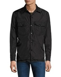 rag & bone Solid Cotton Heath Shirt Jacket
