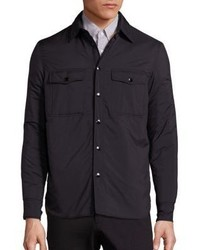 rag & bone Solid Shirt Jacket