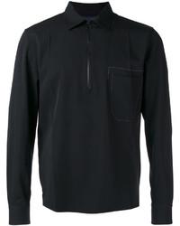 Lanvin Zipped Collar Shirt Jacket