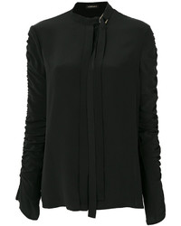 Versace Ruched Sleeve Shirt