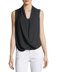 Vince Camuto Sleeveless Wrap Front Shirt